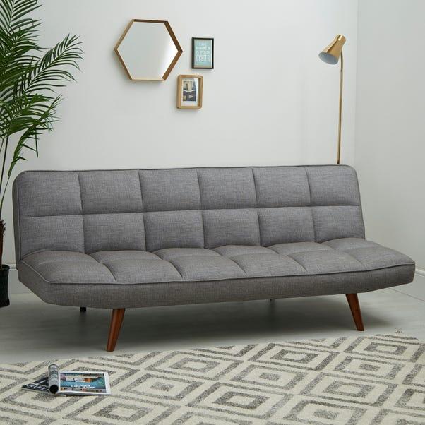 Xander Colour Pop Clic Clac Sofa Bed - Grey