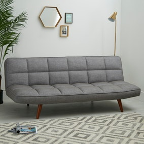Xander Colour Pop Clic Clac Sofa Bed - Grey