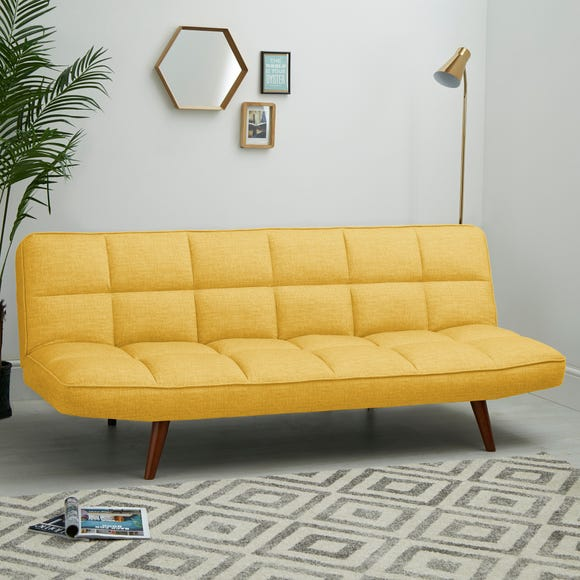 Xander Colour Pop Clic Clac Sofa Bed - Mustard Mustard Xandar