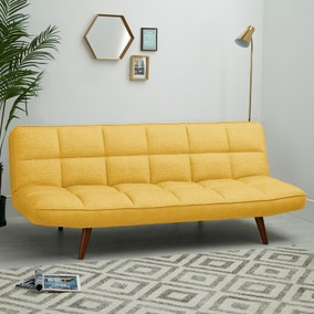 Xander Colour Pop Clic Clac Sofa Bed - Mustard