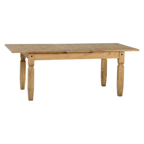 Corona Pine Extending Dining Table Natural