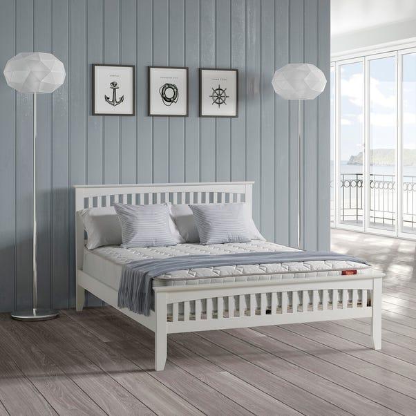 Sandhurst White Wooden Bed Frame  undefined