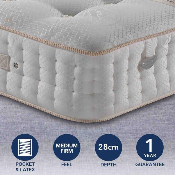 Pocketo 5000 Pocket Sprung Mattress White undefined