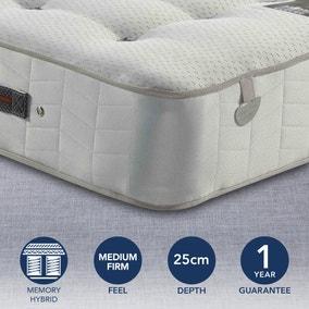 Pocketo Medium Firm 1000 Cool Blue Memory Foam Mattress