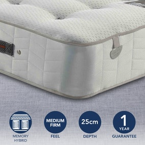 Pocketo Medium Firm 1000 Cool Blue Memory Foam Mattress