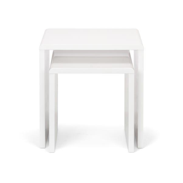 Manhattan Nest of 2 Tables White