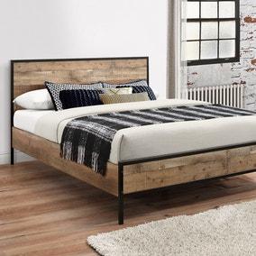 Urban Rustic Bed Frame