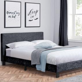Berlin Crushed Velvet Bed Frame