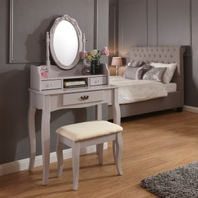 Lumberton Grey Dressing Table Set