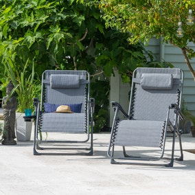 Montreal Set of 2 Deluxe Gravity Loungers