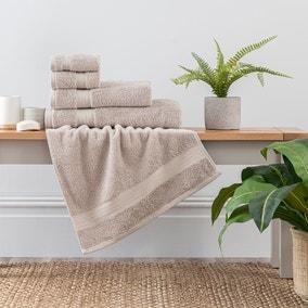 Mushroom Egyptian Cotton Towel