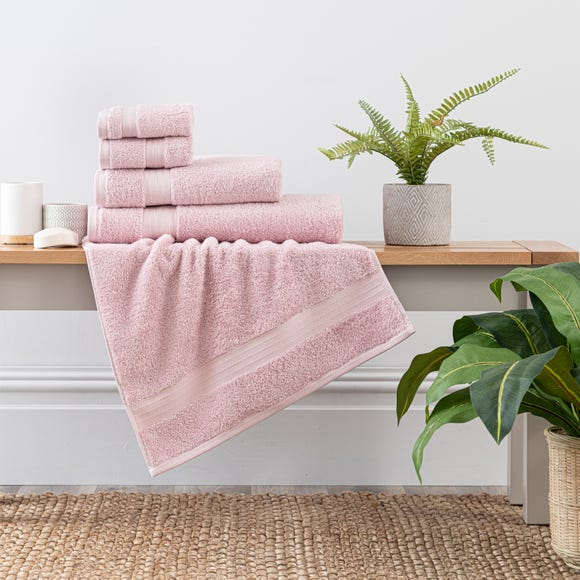 Blush Egyptian Cotton Towel  undefined