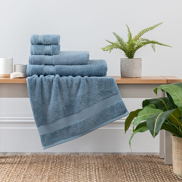 Denim Egyptian Cotton Towel  undefined