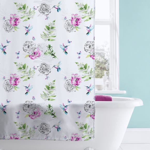 Heavenly Hummingbird Shower Curtain