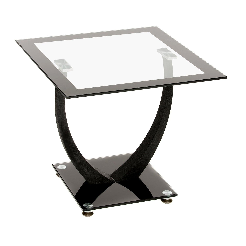 Henley Lamp Table Black