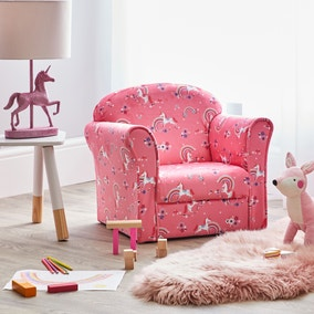 Kids Unicorn Armchair