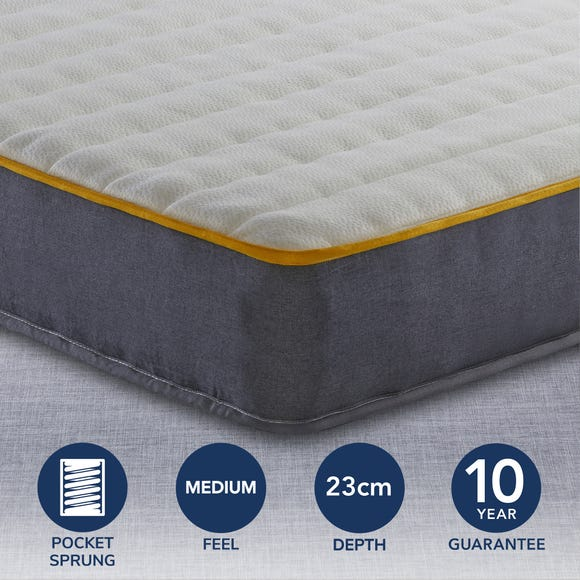 Sleepsoul Comfort 800 Pocket Mattress  undefined