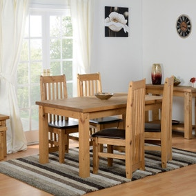 Tortilla 4 Seater Dining Set