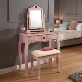 Heart Dressing Table Set