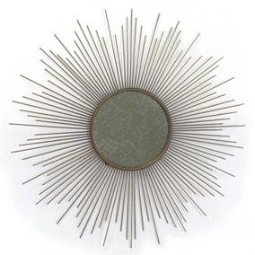 Deco Charm Starburst Mirrored Wall Art