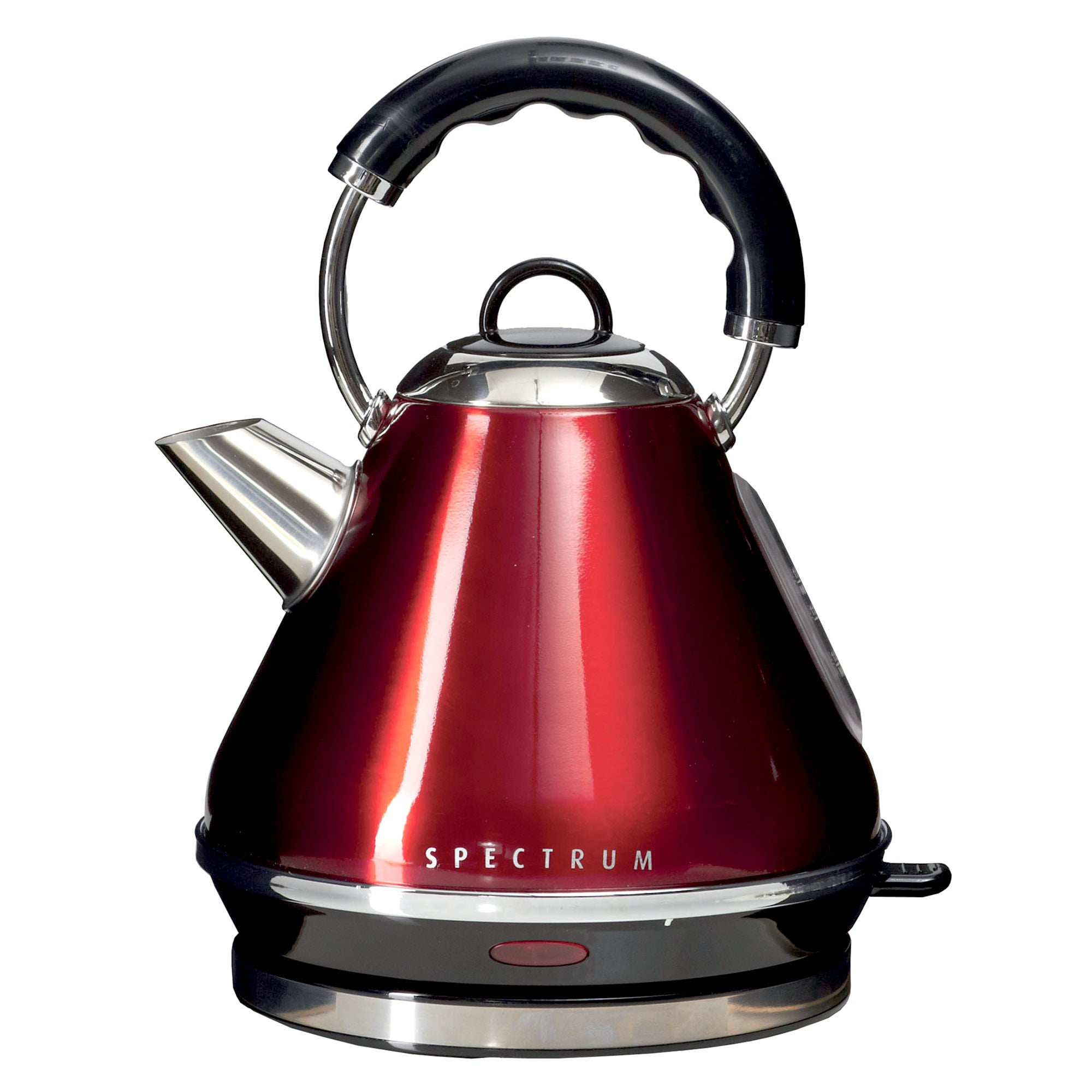 Click to view product details and reviews for Spectrum 17l Red Pyramid Kettle Red.