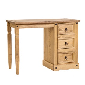 Core Corona Single Pedestal Dressing Table