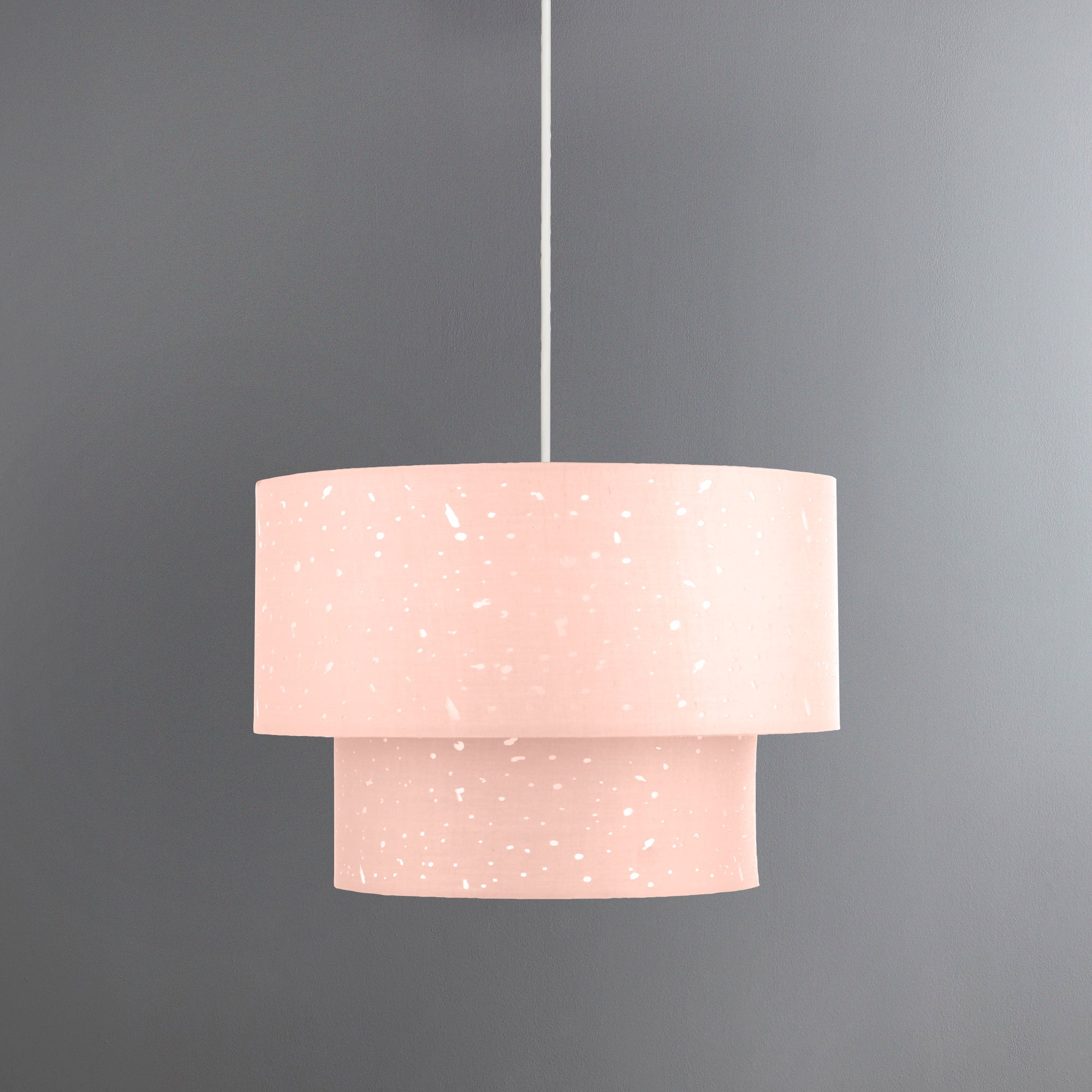 Celano Pink Easy Fit Pendant Pink And Clear