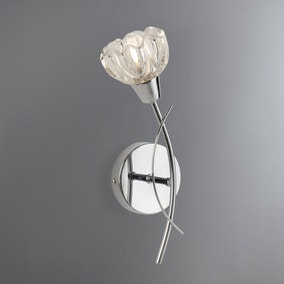 Ceccano Cut Glass Wall Light