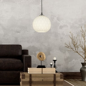 Marconia Textured Glass Easy Fit Pendant