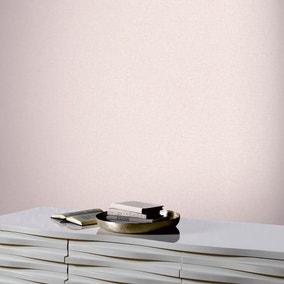 Linen Texture Blush Wallpaper