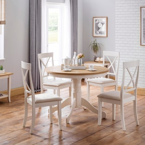 Davenport Round Pedestal Table