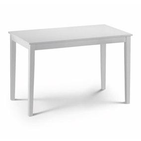 Taku 114cm White Dining Table