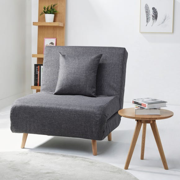 Macy Fabric Pebble Chair Bed