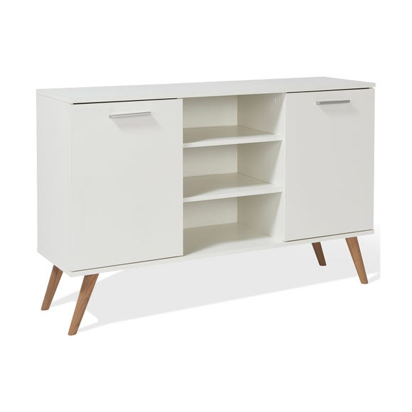 Hannu 2 Door Sideboard - White White