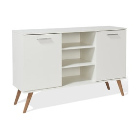 Hannu 2 Door Sideboard - White