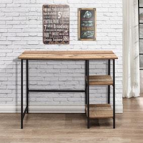Urban Rustic Study Desk - Natural