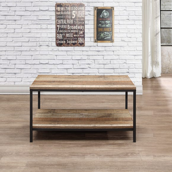Urban Rustic Coffee Table - Natural Natural