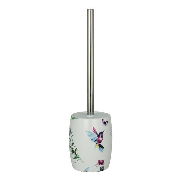 Heavenly Hummingbird Blue Toilet Brush
