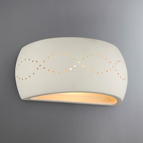 Thasos White Wall Light