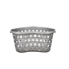 Strata Silver Hip Laundry Basket