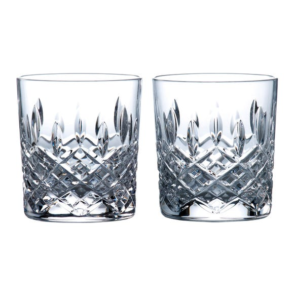 Set of 2 Royal Doulton Highclere Tumblers Clear