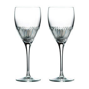 Set of 2 Royal Doulton Calla Wine Glasses