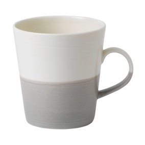 Royal Doulton Coffee Studio Grey Grande Mug