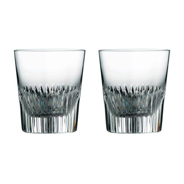 Royal Doulton Calla Tumbler Glasses Clear
