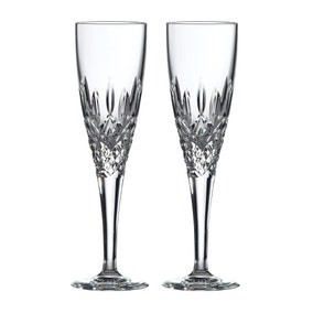 Set of 2 Highclere Flute Glasses