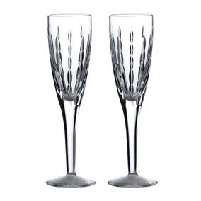 Royal Doulton Neptune Flute Glasses