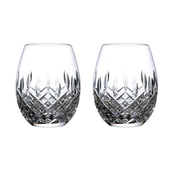 Royal Doulton Highclere Rum Glasses Clear