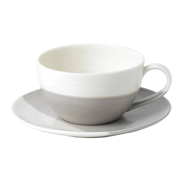 Royal Doulton Coffee Studio Latte Cup and Saucer Multi coloured
