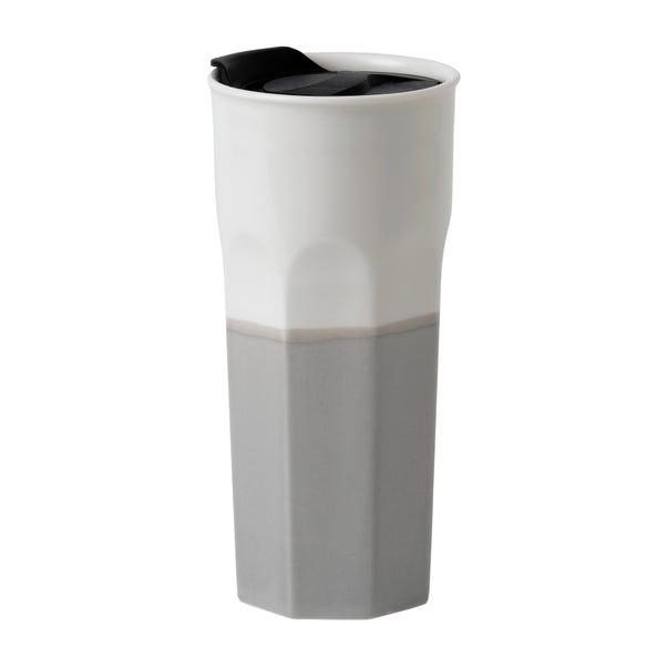 Royal Doulton Coffee Studio 350ml Travel Mug Grey