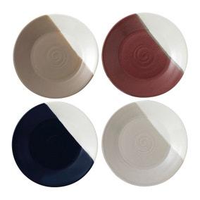 Royal Doulton Coffee Studio Set of 4 Plates